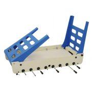 Garlando Open Air vanjski stol za nogomet sa sklopivim nogama i prijelaznim šipkama