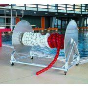 MAXI kolica s bubnjem za pohranu lukobranskih čunjeva, poboljšana