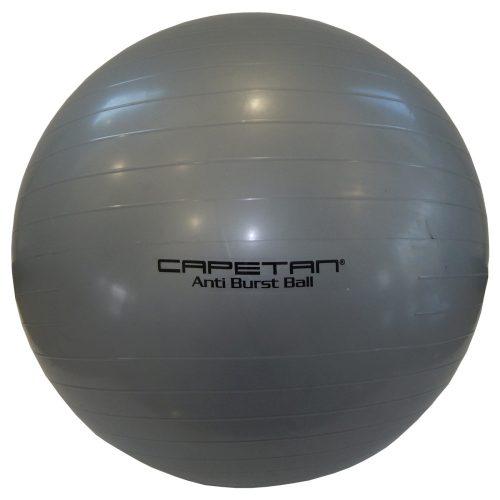 Capetan® Classic Gimnastička lopta u srebrnoj boji 65cm promjera
