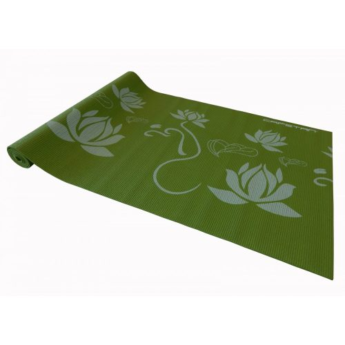Capetan® 173x61x0,4cm Joga tepih u zelenoj boji s uzorcima