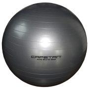 Capetan®Anti Burst gimnastička lopta koja ne pukne, srebrne boje 65cm promjera