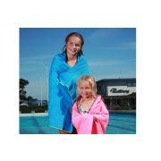 Malmsten ručnik za bazen i fitnes, brzi, plavi, ekstra higroskopan S 55x42 cm