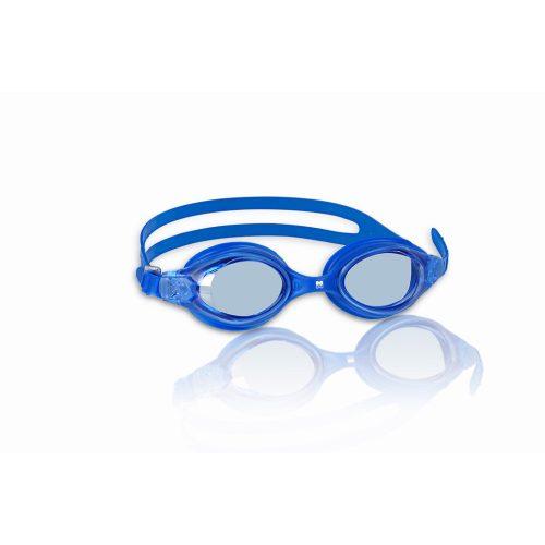 Malmsten ESOX plave plave zaštitne naočale za plivanje za juniore, prozirne polikarbonatne leće