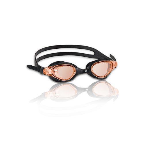 Malmsten Marlin crne naočale za plivanje boje dima, antifog, s UV filter lećama, silikonski okvir i trake