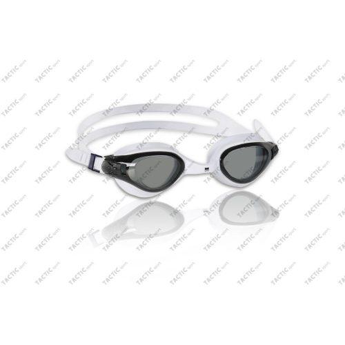 Malmsten Marlin bijele naočale za plivanje boje dima, antifog, s UV filter lećama