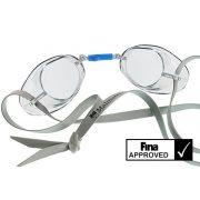 Švedske naočale za plivanje sa  prozirnim lećama - clear, naočale za natjecanja odobrene od FINA , Malmsten