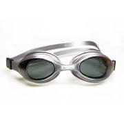 Malmsten Aqtiv naočale za plivanje za odrasle, srebrni okvir, leća dimnosiva, futrola sa zipom
