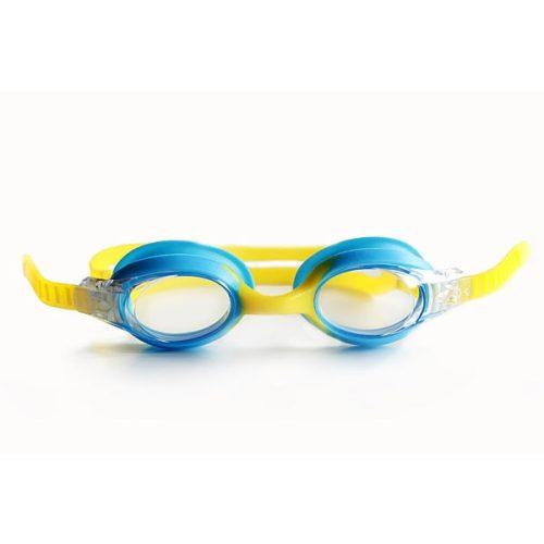 Guppy Junior naočale za plivanje, svijetloplavo/žute boje- dječje naočale za plivanje, Malmsten