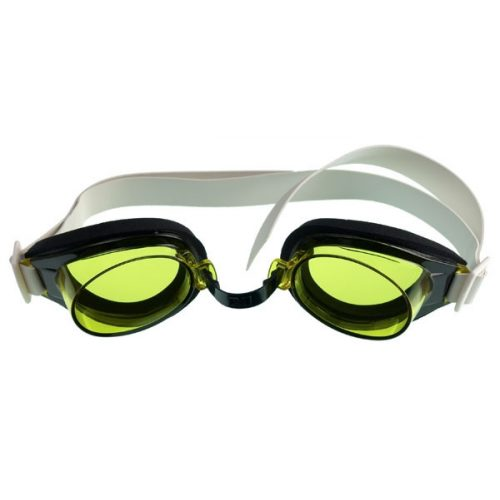 Malmsten TG naočale za plivanje za trening žute boje s podesivim nosnim mostićem