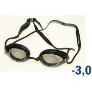 Plivačke naočale za pojedince, s mogućnošću izbora leća, marke Malmsten, preporuča se ukoliko su raličite dioptrije dviju strana.