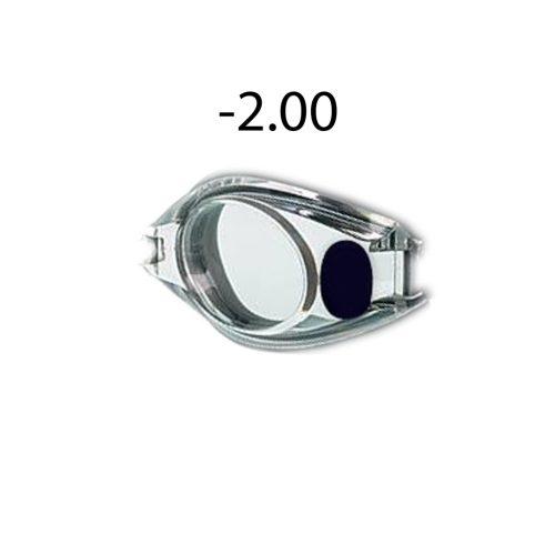 Dioptrijske zaštitne naočale za plivanje -2.00, Malmsten jedan komad rezervnog dijela za optičke plivačke naočale