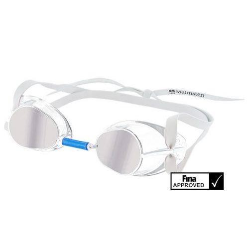 Švedske natjecateljske naočale za plivanje Jewel Collection najnoviji model odobren od Fina-e – Diamond clear prozirne