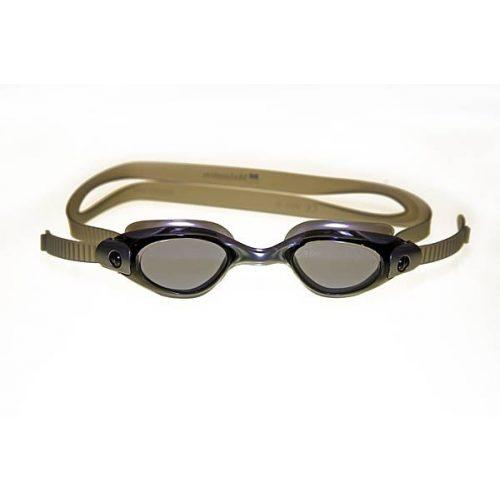 Naočale za plivanje Malmsten Clique granit sive boje, brza podesivost, Preporuča se od 12 godina