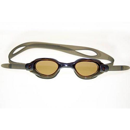 Naočale za plivanje Malmsten Clique đumbir narančaste boje, brza podesivost, Preporuča se od 12 godina
