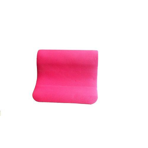 Strunjača rebraste površine za gimnastiku materijal: pjena NBR : 180x60x0.8 cm boja pink