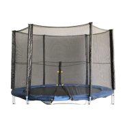Zaštitna mreža za trampolin 305 cm sa patent zatvaračem(za stupove vanjske mreže), pogodan za model sa 3 w noge i 6 stupa za mrežu, model Fun , Fly high modele