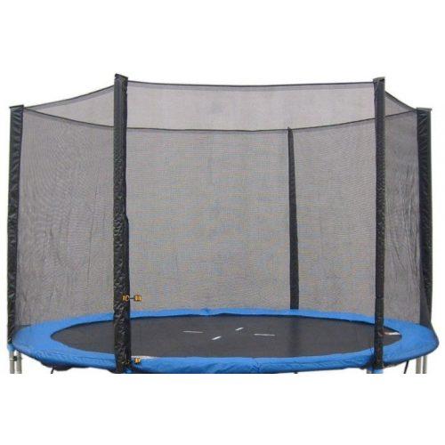 Sigurnosna mreža za trampolin 244 cm  Fun i Fly High, Selector, sa 6 stupova i 3 w noge, vanjska mreža