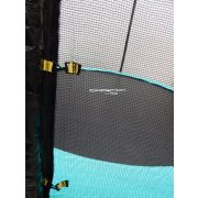 Trampolin Capetan® Selector 366cm promj.specijalno pričvršćivanje okvira T-elementom ojačan trampolin s iznimno visokom zaštitnom mrežom,debelom spužvom, visokom 80 cm skakačkom površinom