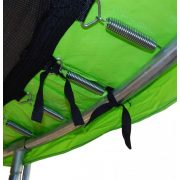 Capetan® 366 cm Trampolin Lime zelena Spužva debljine 20 mm za oblogu opruge