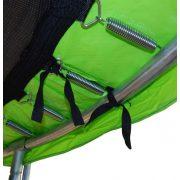 Capetan® 397 cm Trampolin Lime zelena Spužva debljine 20 mm za oblogu opruge