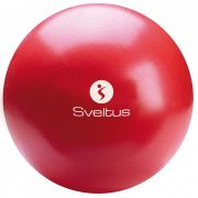 Soft Ball, Over Ball Sveltus, Pilates gimnastička lopta 25 cm crvena