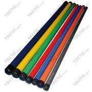 Otežana gimnastička palica sa povećanom težinom od 1kg za fitnes vježbu, 105x2,6 cm, srebrna.