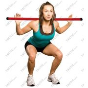 Otežane gimnastičke palice od1-6 kg. Korisni za razvijanje dijelova ramena, leđa i grudnog koša. Palice su nelomiva, švrsta i elastična. Težinska skala je označena raznim bojama. Jednostavan pribor koji odlično dopunjuje neke druge, naprimjer fitbal