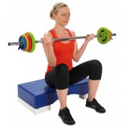 Pilates set 16kg, set utega sa šipkom, set hot iron karaktera