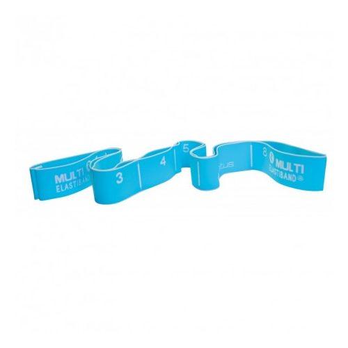 Multi Elastiband 20kg otpornosti, 110 cm ukupne dužine, ručke 16,5cm ,srednje plava.