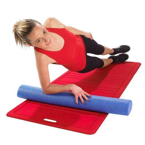 Poluvaljak ravnoteže i koračenja 90 x 15 x 7,5 cm, pjenasta staza ravnoteže.