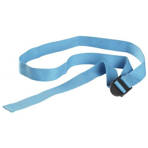 Joga pojas, yoga remen srednje plava