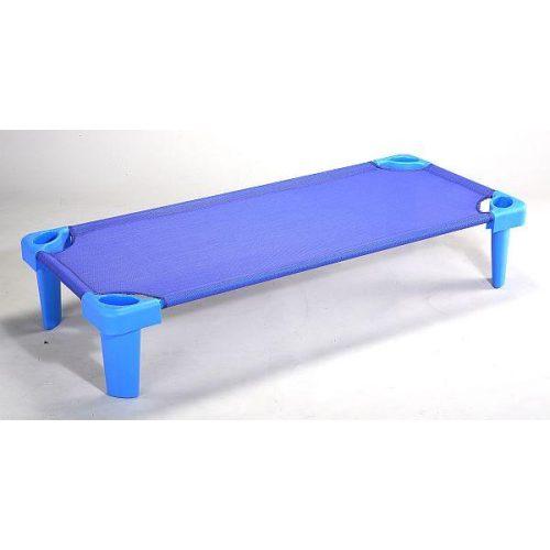 Kreveti za dječji vrtić Tactic Color ekstra produžene izvedbe dimenzije L: 144x58x12cm PLAVA BOJA