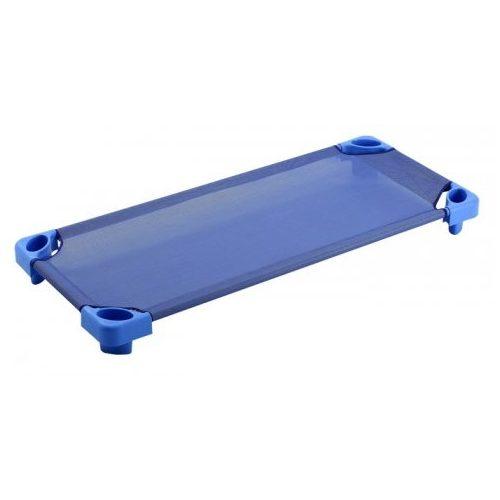 Krevet za dječji vrtićTactic Color - Povišeni plastični nasadni krevet za dječji vrtić X (133x58x15cm) plavi