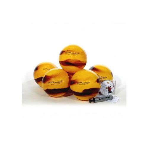 Set lopti za treniranje nogometnog golmana 12kom lopti različite težine,promjera 22cm