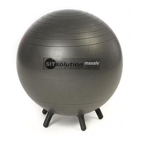 Sitsolution lopta-stolica sa sićušnim nogama 65 cm, boja crni dijamant od standardnog materijala, po najboljoj cijeni talijanske kvalitete