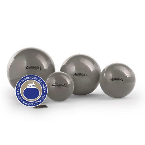 Standard gimnastička lopta 75 cm, opterećenje do 400 kg,srebrne boje