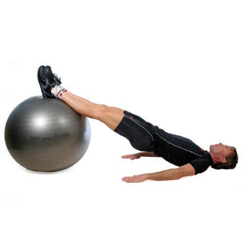 Fitball gimnastička lopta Pezzi maxafe, 75 cm, antracit siva, ABS sigurnosni materijal