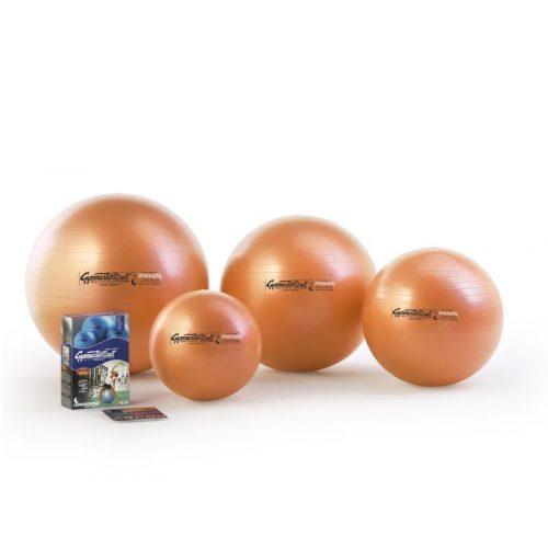 Fitball gimnastička lopta maxafe, 75 cm, narančasta, ABS sigurnosni materijal