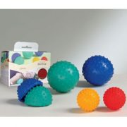 Activa masažna lopta s podesivom veličinom 13-16 cm u zelenoj boji