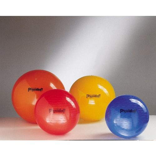 Physioball standardna 105 cm fizioterapijska gimnastička lopta 105cm u žutoj boji
