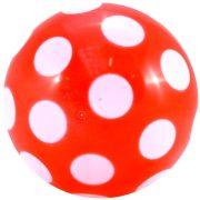 Šarena plastična lopta s točkicama promjera 220 mm s ventilom,može se napuhati,lopta igračka