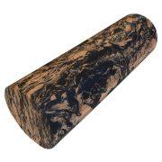 Capetan® Ekstra tvrde mase 15x45cm SMR masažni valjak narančasta / crna ekstra tvrde mase SMR masažni valjak s glatkom površinom
