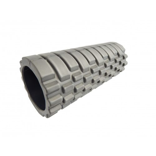 Capetan® Gilavar 10x30cm kompaktni SMR valjak u sivoj boji s ABS sigurnosnim plastičnim umetkom