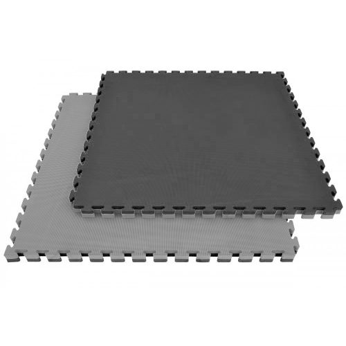 Capetan® Floor Line 100x100x2,5cm siva / crna boja puzzle tatami tepih