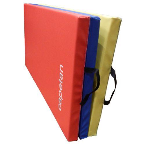 Capetan® Premium line 120x180x5cm sa PVC obložena 3-dijelna preklopiva gimnastička strunjača