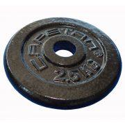Capetan® 2,5kg čelični utegni disk s čekićnim lakom, s promjerom rupe 31mm
