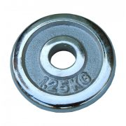 Capetan®kromirani 1,25kg utegni disk s promjerom rupe 31mm- kromirani utegni disk