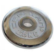 Capetan® 2,5kg kromirani utegni disk s promjerom rupe 31mm- kromirani utegni disk