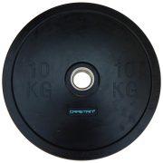 Capetan® Professional Line Olympiai 10 kg  Bumper  gumeni utegni disk s promjerom rupe 51mm