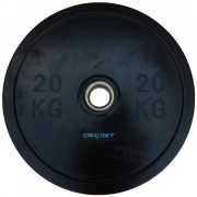 Capetan® Professional Line Olympiai 20 kg  Bumper  gumeni utegni disk s promjerom rupe 51mm